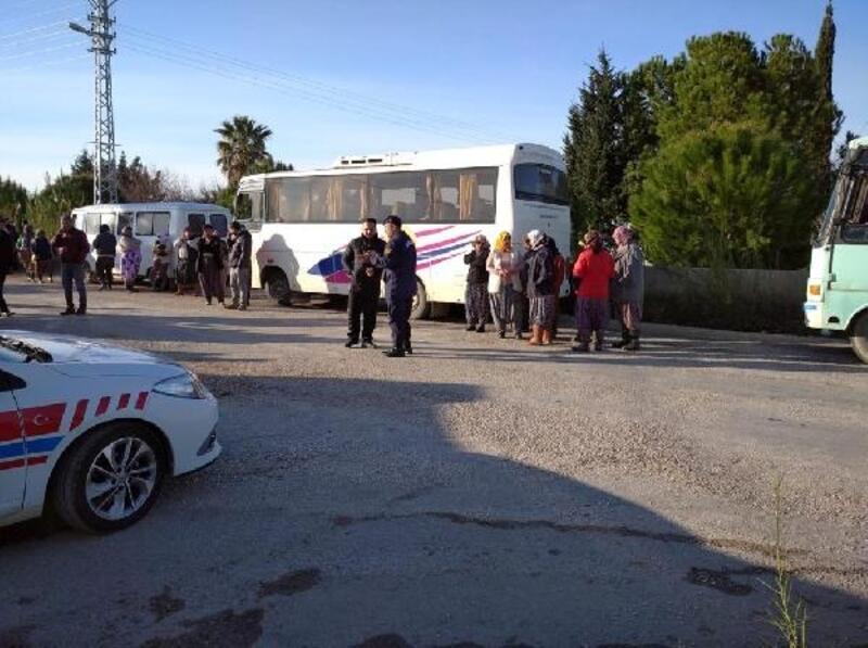 Mersin'de 28 servis aracı trafikten men edildi