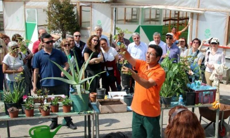 Çankaya'da 'Bahçıvanlık' eğitimi