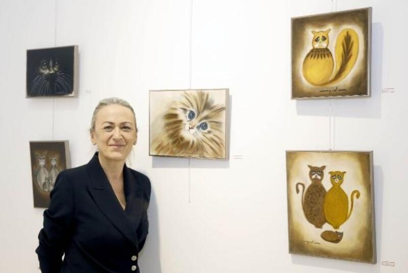 Çankaya'da ressam Atakurt'un resim sergisi açıldı