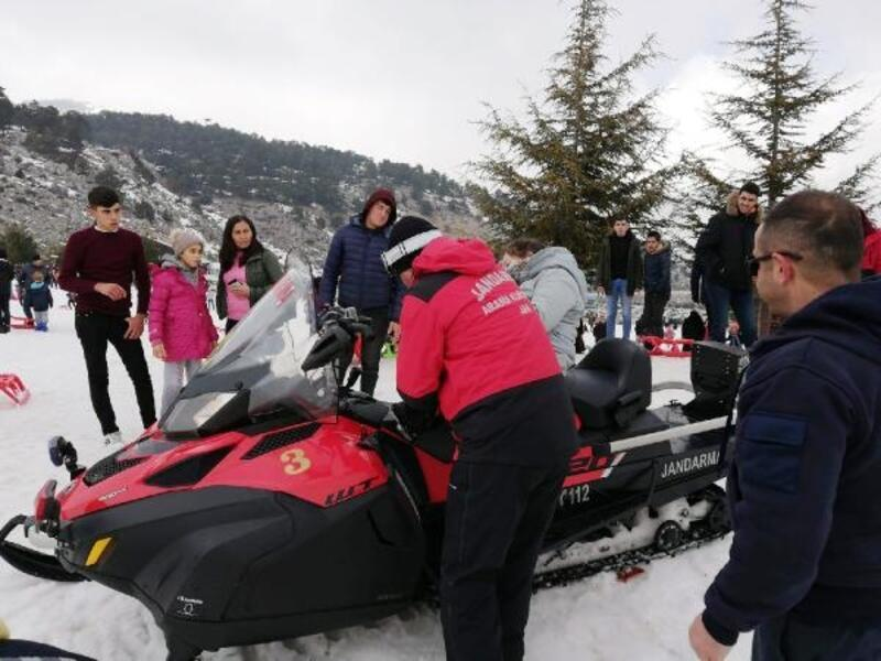 JAK timi 34 kayakçıyı kurtardı