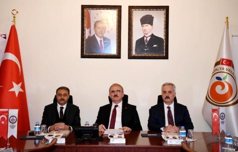 BAKA toplantısı, Vali Karaloğlu başkanlığında yapıldı