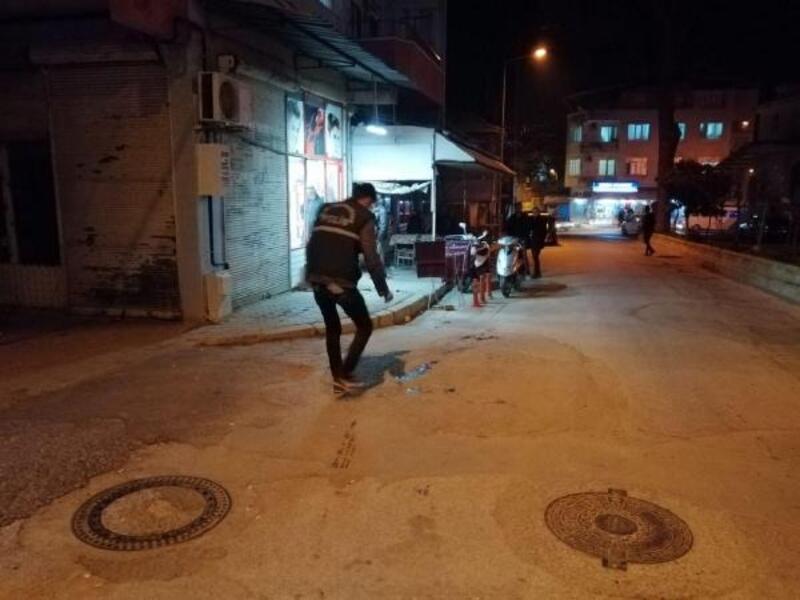 Nazilli'de bıçaklı kavga: 1 yaralı