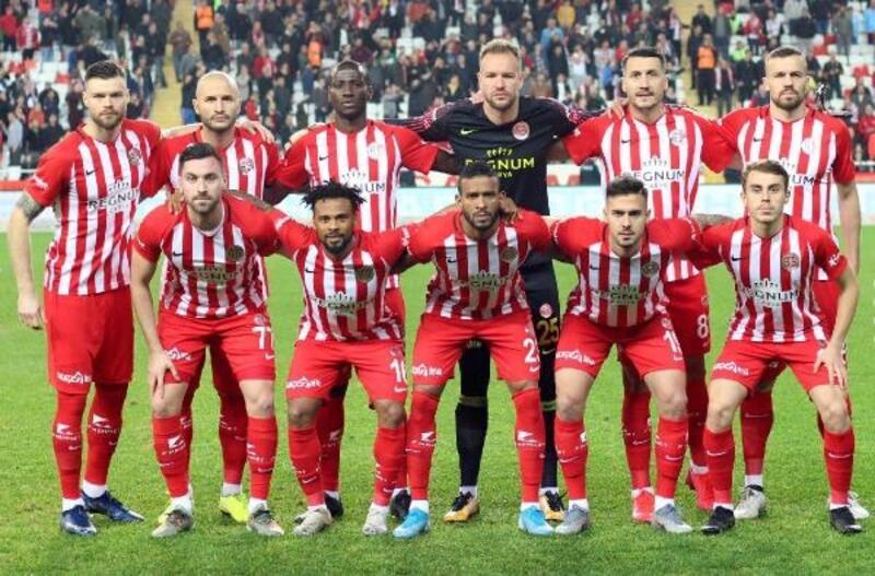 Antalyaspor, 4 maçtır yenilmiyor