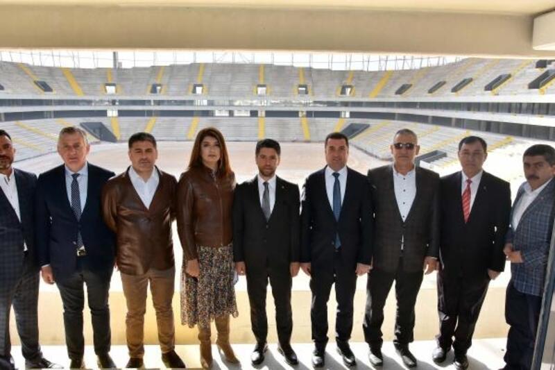 AK Parti İl Başkanı Ay: Yeni sezonda stad hazır