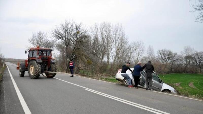 Malkara'da kaza: 1 yaralı
