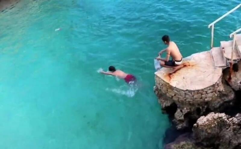 Denizdeki çöpleri topladılar