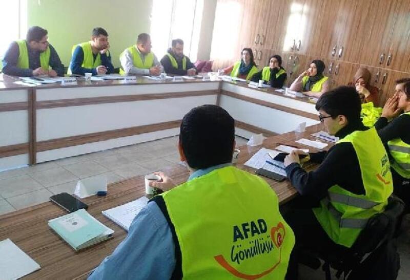 Niğde'de AFAD gönüllülerine ilk yardım eğitimi verildi
