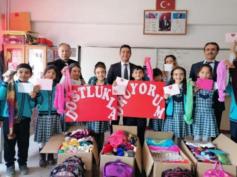Tokatlı öğrencilerden Elazığ'a destek