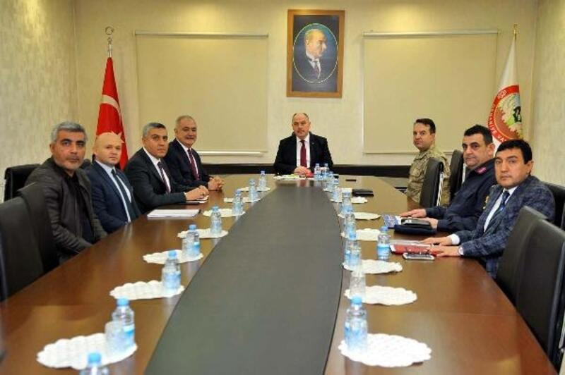 Osmaniye'de, otobüs kazalarının önlenmesi toplantısı