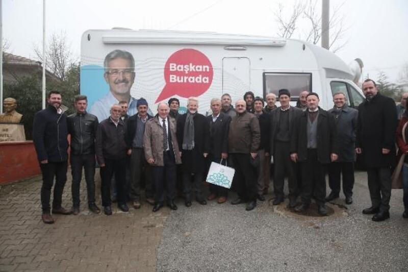 Nilüfer Belediye Başkanı Erdem, Kadriye Mahallesi'nde inceleme yaptı