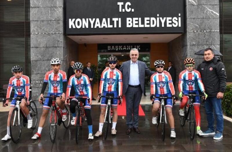 Konyaaltı'na Bisiklet Takımı