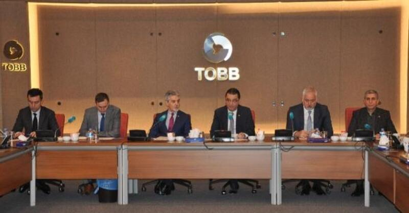 TOBB Sektör Başkanlığı'na yeniden Teoman Tosun seçildi