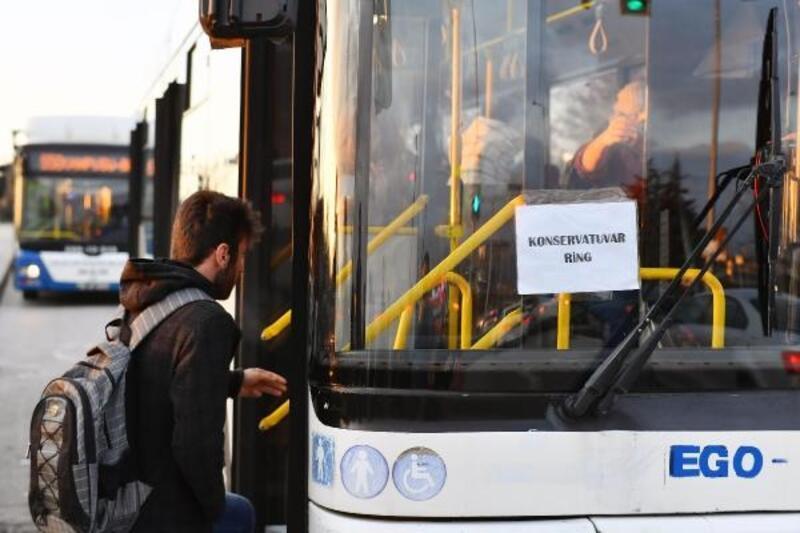 Başkent'te konservatuvar öğrencilerine ücretsiz ulaşım kolaylığı