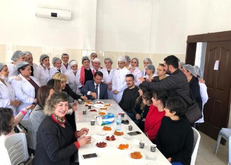 Samandağ'da kooperatif kuran 25 girişimci kadın istihdam sağlıyor