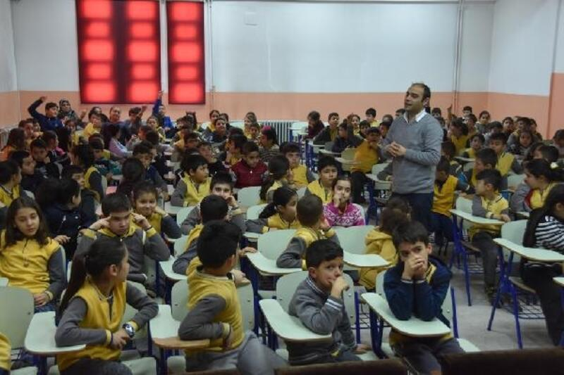 Kocasinan Belediyesinden öğrencilere 'sıfır atık' eğitimi