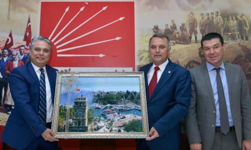 Başkan Uysal'dan hayırlı olsun ziyareti
