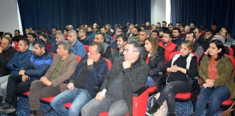 Kumluca'da biyolojik mücadele toplantısı