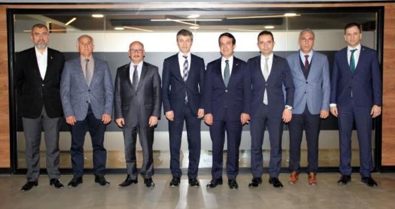 Vergi Dairesi Başkanı Uzun'dan ATB'ye ziyaret