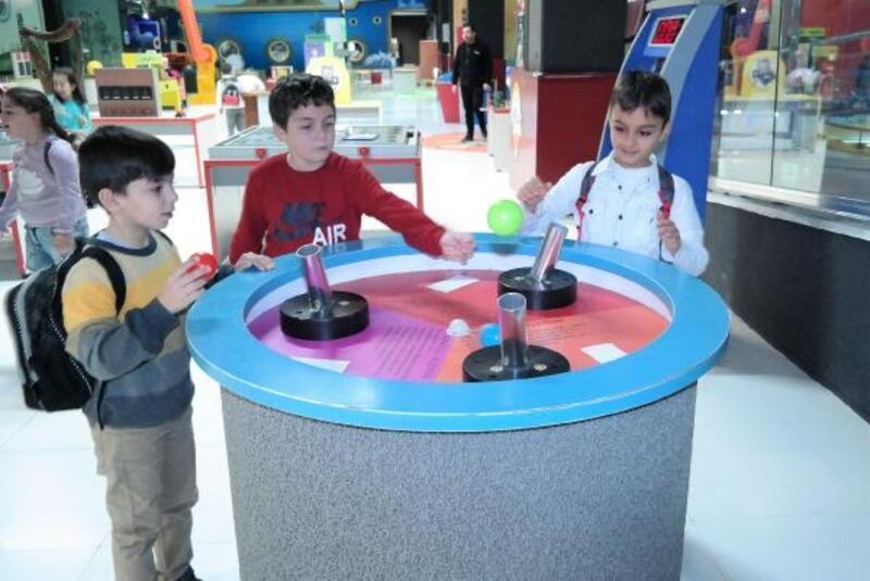 Mudanyalı çocukların bilim turu