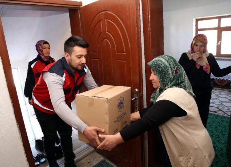 Aksaray Belediyesinden, çölyak hastalarına gıda yardımı