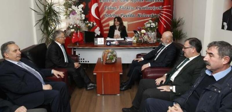 Büyükkılıç'tan, CHP ve İYİ Parti'ye ziyaret