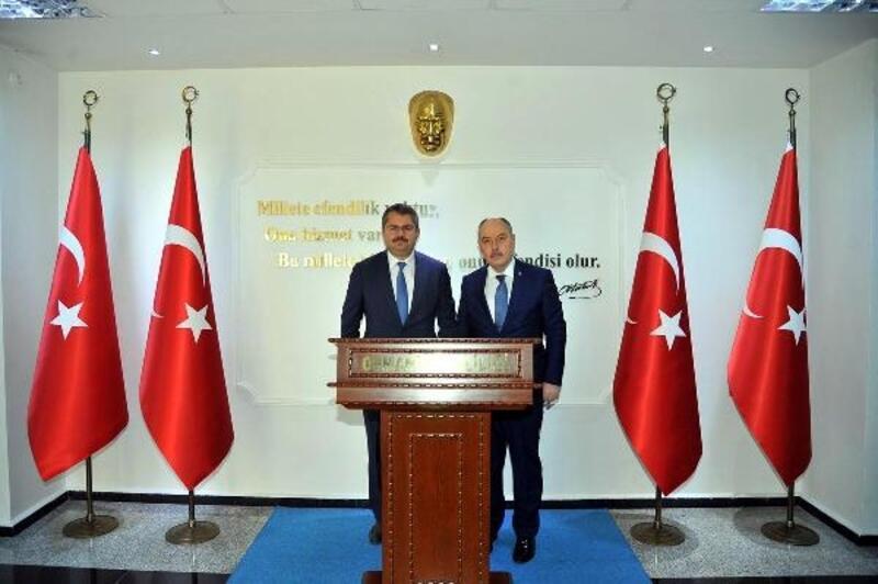 Azerbaycan Büyükelçisi Hazar İbrahim'den Vali Coşkun'a ziyaret