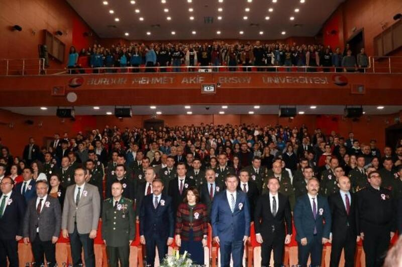 Burdur'da İstiklâl Marşı'nın kabulü töreni
