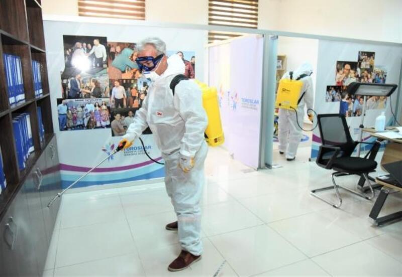Mersin'de koronavirüs tedbirleri
