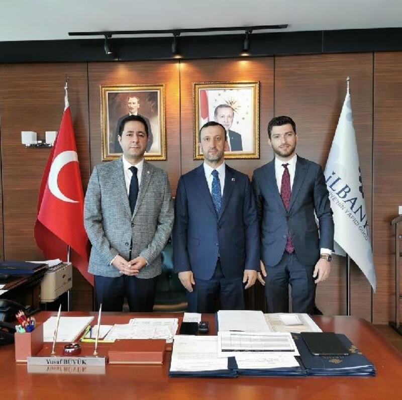 Erbaa'nın projeleri İler Bankası'na sunuldu