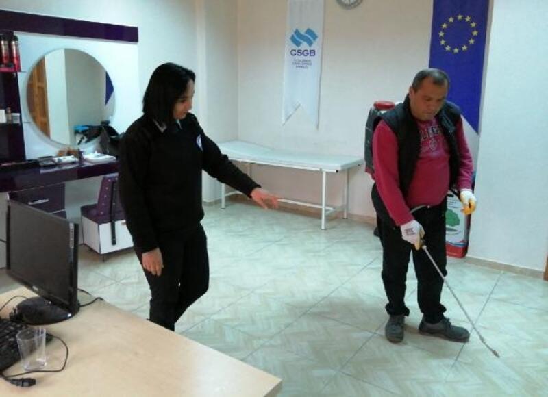 Kozan Belediyesi'nden koronavirüse karşı önlem