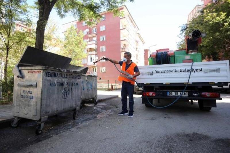 Yenimahalle'de temizlik çalışmaları arttı