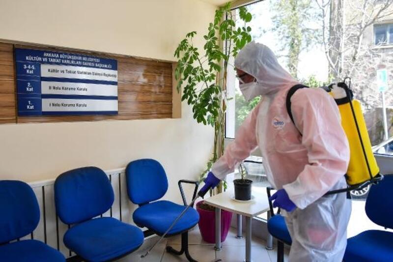 Büyükşehir Belediyesi, temizlik personelinin izinleri kaldırıldı