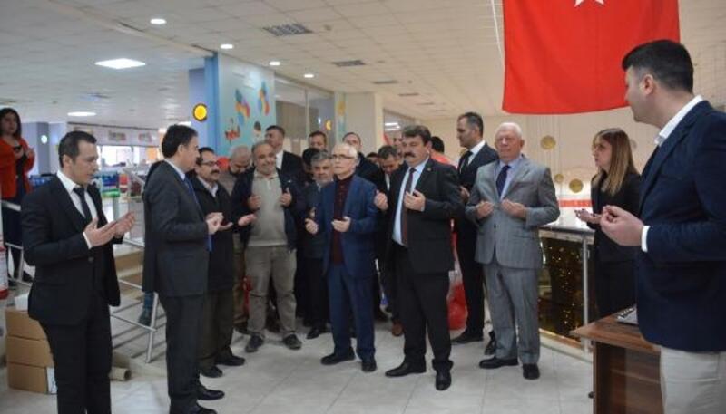 Dinar'da Kitap Fuarı açıldı