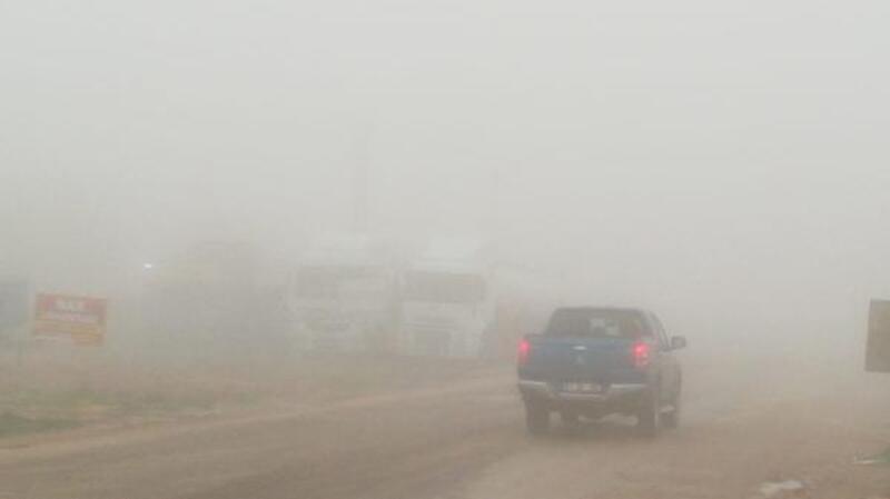 Adıyaman'da ulaşıma sis engeli