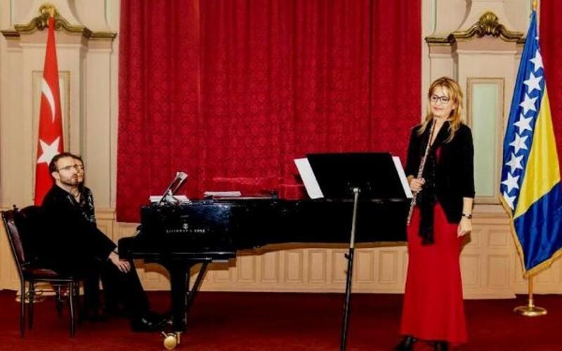 Saraybosna'da konser verdi
