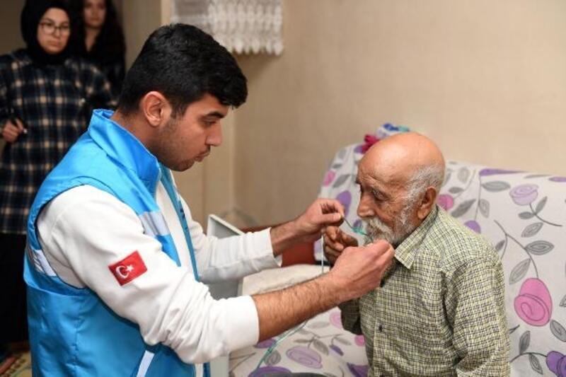 KOAH hastası Derviş Amca'ya tıbbi cihaz desteği sağlandı