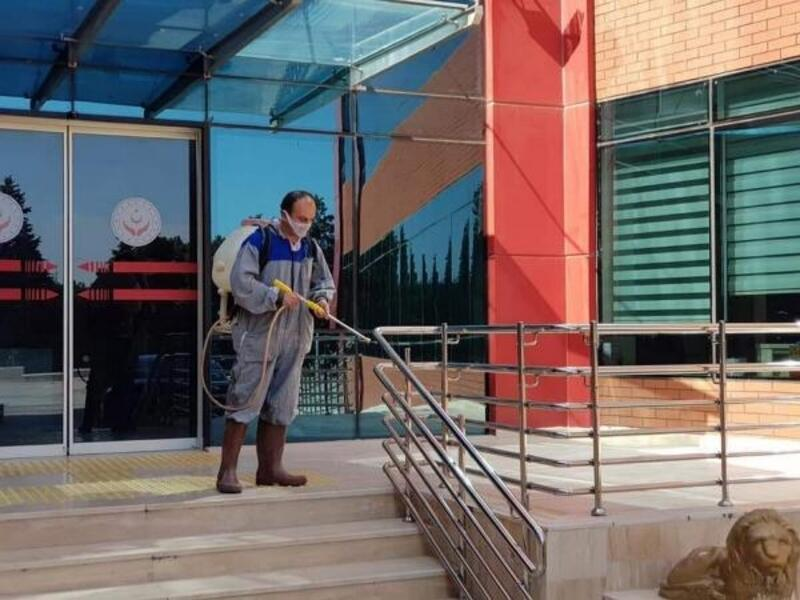 Burdur'da koronavirüs tedbirleri