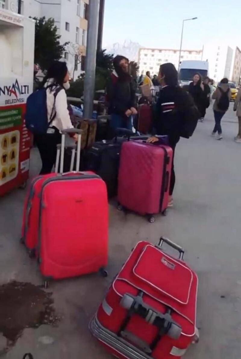Antalya'daki yurtlara düzenleme