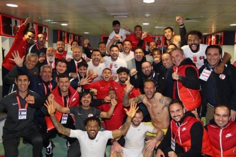 Fraport TAV Antalyaspor son 8 maçında yenilmedi