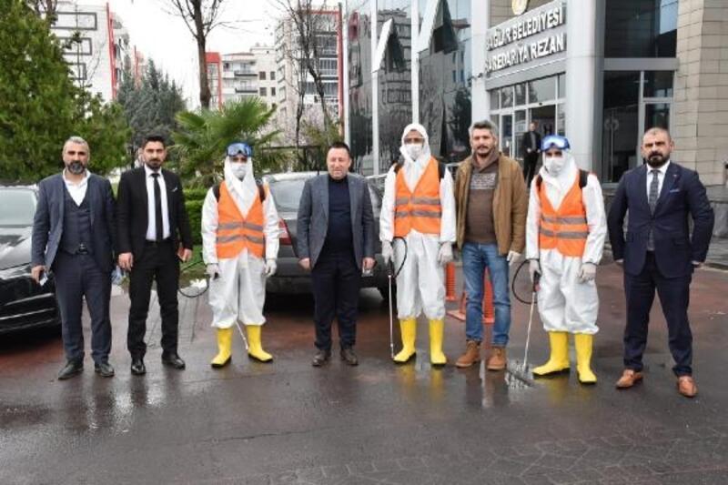 Bağlar Belediyesi'nden koronavirüs için özel ekip