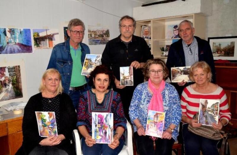 Avusturyalı sanatçılar Antalya'da