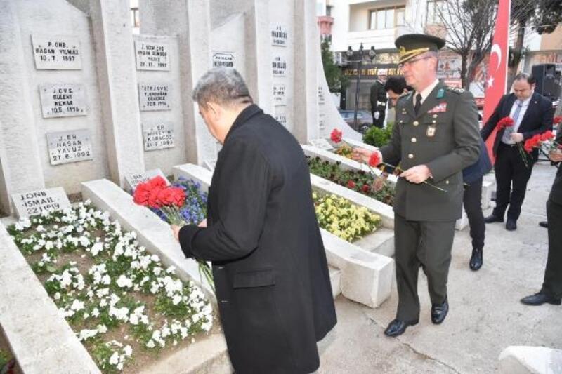 Keşan'da, Çanakkale Deniz Zaferi'nin 105'inci yılı törenle kutlandı