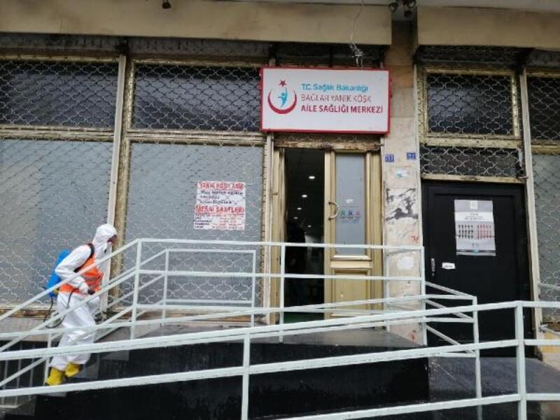 Bağlar Belediyesi, sağlık merkezlerini dezenfekte etti
