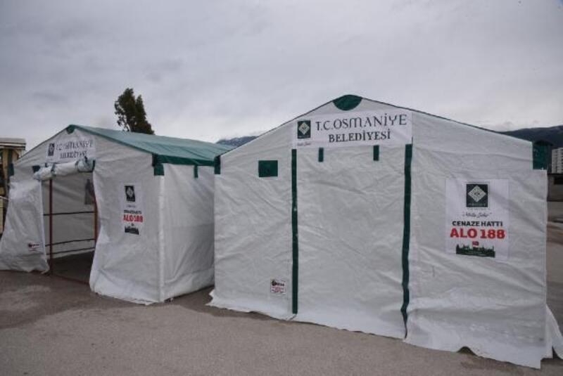 Geçici bir süre taziye çadırı kurulmayacak