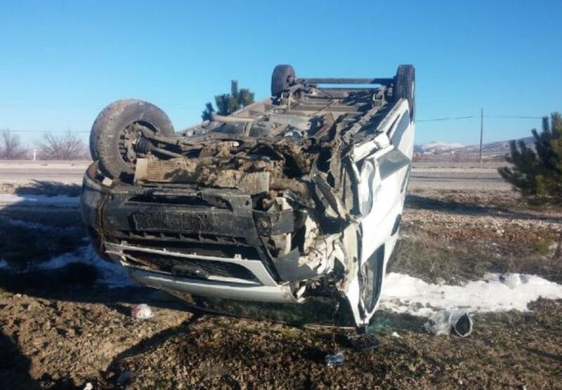 Korkuteli'de kaza: 2 yaralı