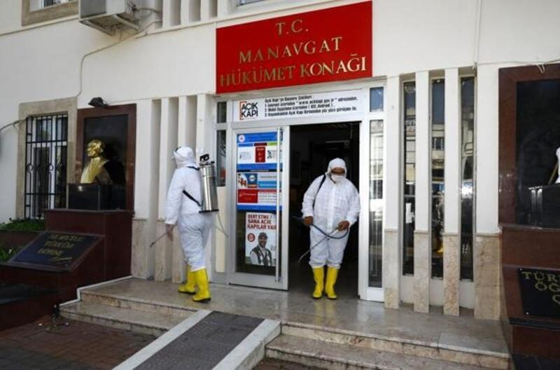 Manavgat'ta koronavirüs önlemleri artırıldı
