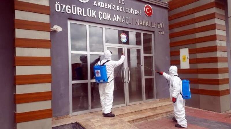 Akdeniz Belediyesi koronavirüse karşı teyakkuzda