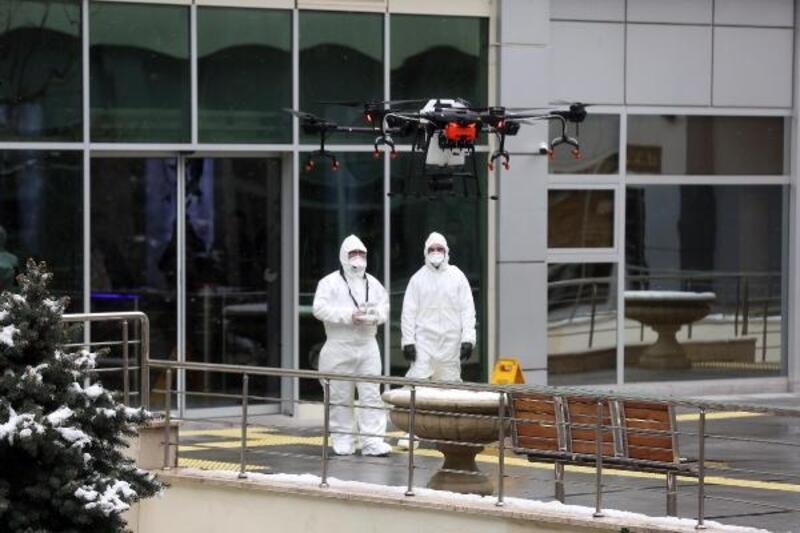 Yenimahalle, drone ile dezenfekte edilecek