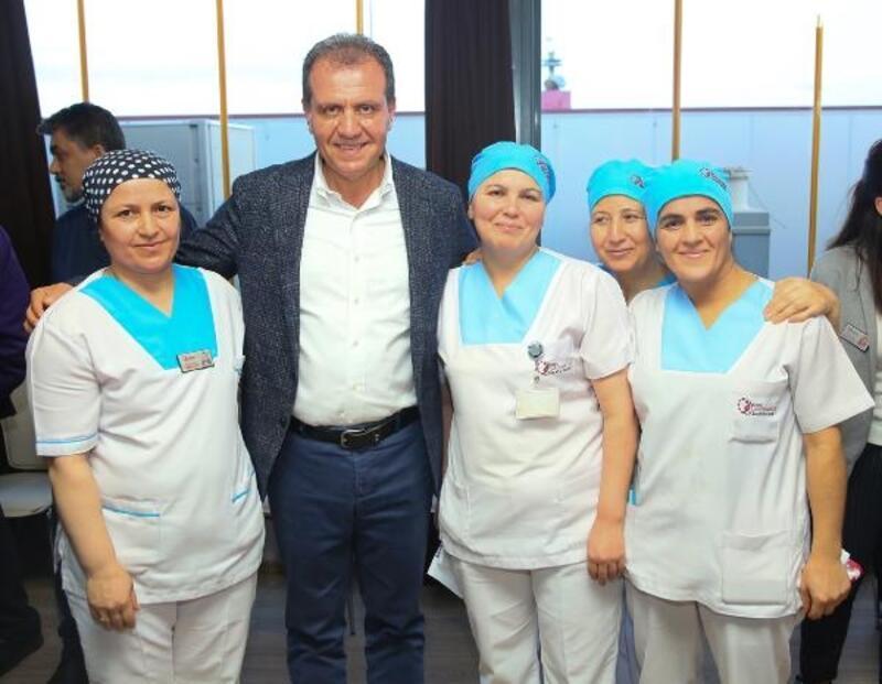 Mersin'de sağlık çalışanlarına ücretsiz ulaşım