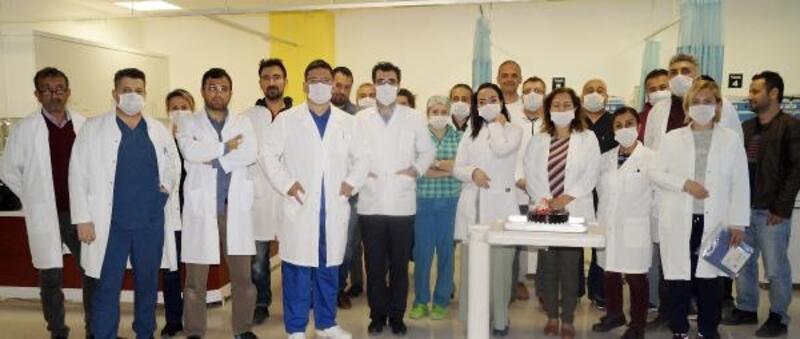 Finike Devlet Hastanesi'nde koronavirüs hazırlığı